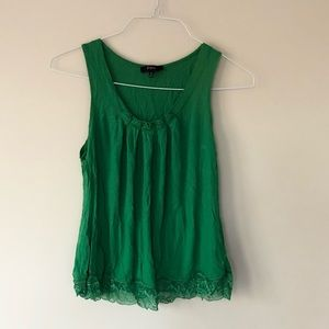St. Patrick's Day Green Tank Top Express Small